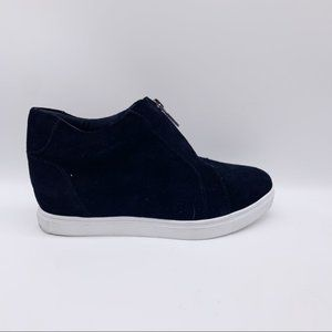 Blondo Glenda Black Suede Sneakers